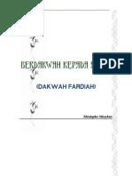 Dakwah Fardiah (Mustafa Masyhur)