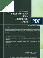 7. Penyimpanan Dan Distribusi Obat(Kuliah7)