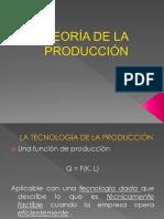 Unidad III Teoría de La Producción 2014