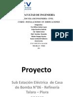 Sub Estación Eléctrica Refinería Talara
