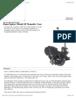 Guia para a caixa de transferencia multipla Dana Spicer Model 18