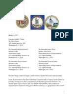 Regional Shutdown Letter MD VA DC 1.4.19