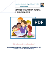 Plan de Convivencia y Tutoria 2018