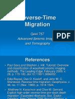 23. Reverse-Time Migration