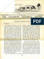 Hall, Manly P. - Students Monthly Letter 4th Year - Secret Doctrine in the Bible Nr.03