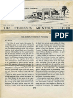 Hall, Manly P. - Students Monthly Letter 4th Year - Secret Doctrine in the Bible Nr.01