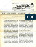 Hall, Manly P. - Students Monthly Letter 4th Year - Secret Doctrine in the Bible Nr.04