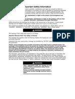 Alternator Use and Maintenance Manual