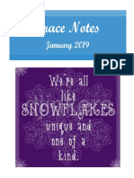 grace notes january 2019