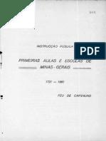 APM - INSTRUÇÃO PUBLICA - PRIMEIRAS AULAS E ESCOLAS DE MINAS - GERAES - 1721 - 1860 P. 25.pdf