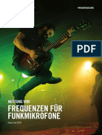 Shure Frequenzguide