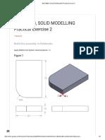 Bda 30903, Solid Modelling Practical Exercise 2