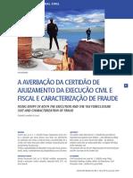 A averbação da cerrtidão de ajuizamento da execução civil e fiscal e caracterização de fraude.pdf