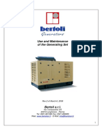 Generating Set Use and Maintenance Manual