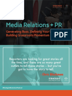 Media Relations and PR Tips