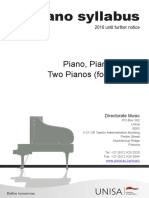 Piano Syllabi