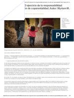 Thomson Reuters _ Doctrina Del Día_ El Ejercicio de La Responsabilidad Parental y La Noción de Coparentalidad. Autor_ Myriam M. Cataldi