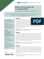 Metodo de Investigación de La Subjetividad