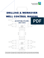 Well control manual Saudi Aramco 6th Edition