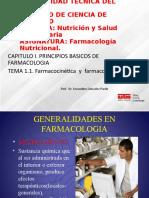 Farmacocinética y Farmacodinâmica
