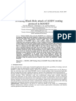 103_Avoiding Black Hole Attack of AODV Routing Protocol in MANET