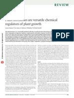 Plant hormones are versatile chemical regulators of plant growth.pdf