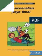 SANTAMARÍA, Carlos, FUMERO, Ascensión (2008), El Psicoanalisis ¡Vaya Timo!. Lectulandia