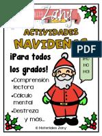 Actividades navideñas - Materiales Zany