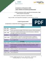 Agenda Formazione Opertori Forli-Radicalizzazione
