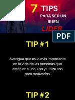 7 Tips Para Ser Un Buen Lider.