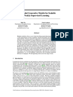 Multimodal Generative Models for Scalable Weakly-Supervised Learning