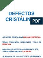 03 Defectos Cristalinos 2014 Rev5