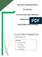 AuditoriA Ambiental