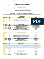 Agenda Tirirical 2018