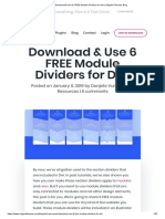 Download & Use 6 FREE Module Dividers for Divi _ Elegant Themes Blog