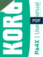 Pa4X User Manual v2.2 E