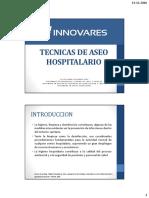 Técnicas de Aseo Hospitalario.