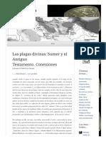 2010 03 31 Las Plagas Divinas Sumer y El Antiguo Testamento Conexiones (Lampuzo.wordpress)