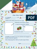 Lettre Au Pere Noel Feuille Dexercices 62126