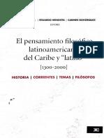 Introducción. Dussel, Pensamiento filosófico latinoamericano.