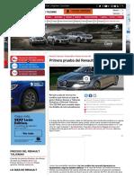 Primera Prueba Del Renault Talisman 2019