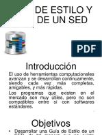 Proyecto Guia de Estilo de Bases de Datos en Sistemas