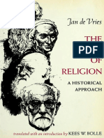 Jan de Vries - The Study of Religion a Historical Approach