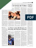 La Jornada Ags 02 Abr 09 Sera Prioridad Arroyo de Cobos