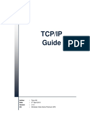 TCP-IP Guide V1-0 | Transmission Control Protocol | Network