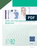 Tipps Zur Prüfungsvorbereitung Deutsch Pflege b1 b2.