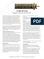 Core Rules and Bases Sizes En