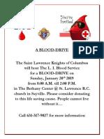 A Blooddrive1!7!19