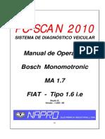 Manual de Injecao FIAT Bosch MA 1.7