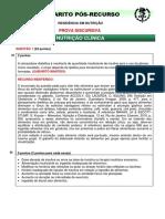 (S00255)Nutricao DISC. - Res. Saude - Gab Pos Recurso